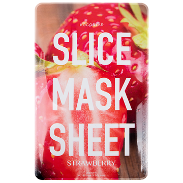 KOCOSTAR Strawberry Slice Mask Sheet
