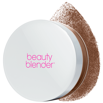 beautyblender BOUNCE Soft Focus Gemstone Setting Powder Chocolate