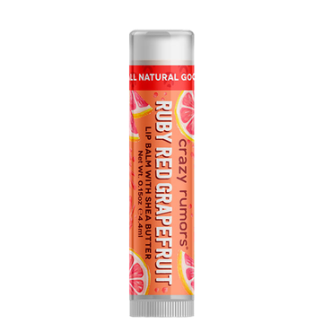 Crazy Rumors Lip Balm Ruby Red Grapefruit