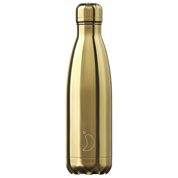 Chilly's Bottle Chrome Gold