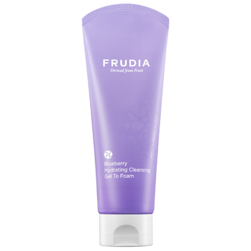 Frudia Blueberry Hydrating Cleansing Gel to Foam