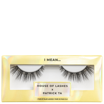 House of Lashes x Patrick Ta I Mean...