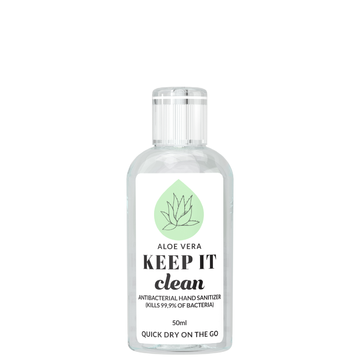 KEEP IT Clean Antibacterial Hand​ Sanitizer Aloe Vera 50 ml