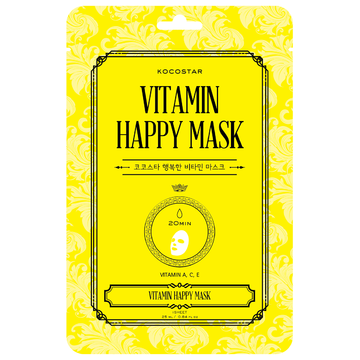 KOCOSTAR Vitamin Happy Mask