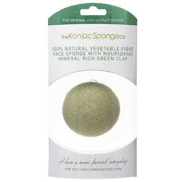 Konjac Sponge French Green Clay