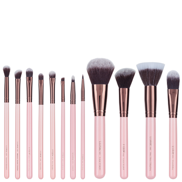 Luxie Rose Gold Signature Brush Set