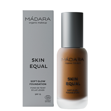 Mádara Skin Equal Soft Glow Foundation Chestnut