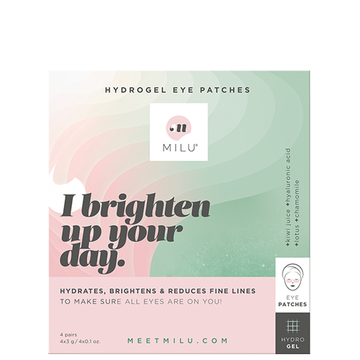 MILU I Brighten Up Your Day Hydrogel Eye Patches
