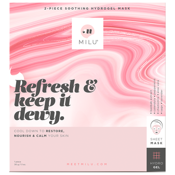 MILU Refresh & Keep It Dewy Hydrogel Mask