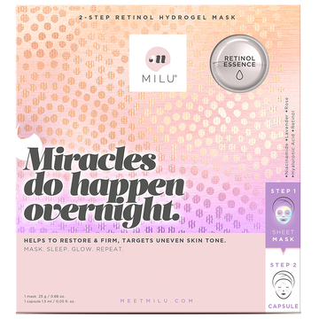 MILU Miracles Do Happen Overnight Retinol Hydrogel Mask