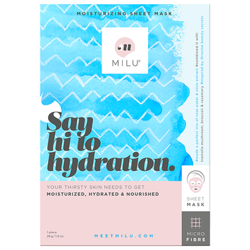MILU Say Hi to Hydration Moisturizing Sheet Mask
