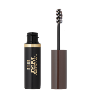 Milani Stay Put Brow Shaping Gel Medium Brown