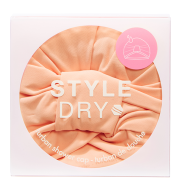 STYLEDRY Turban Shower Cap That's Peachy