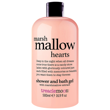 treaclemoon Marshmallow Hearts Shower & Bath Gel