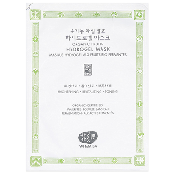 Whamisa Organic Fruits Hydro Gel Mask
