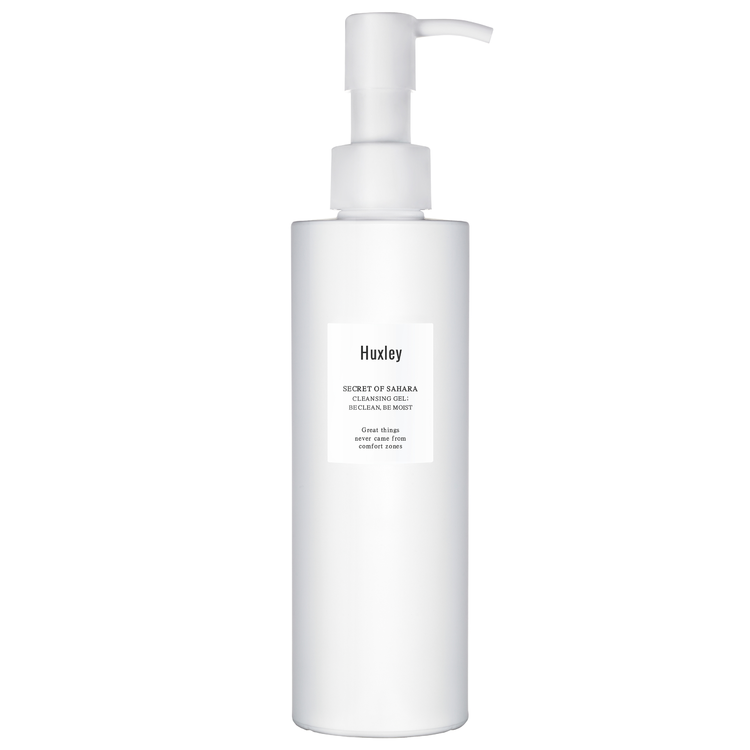 Huxley Gel Cleanser; Be Clean, Be Moist
