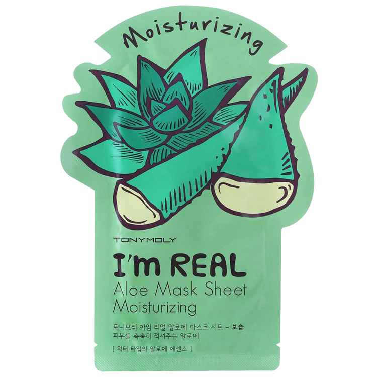 TONYMOLY I'm Real Aloe Mask Sheet