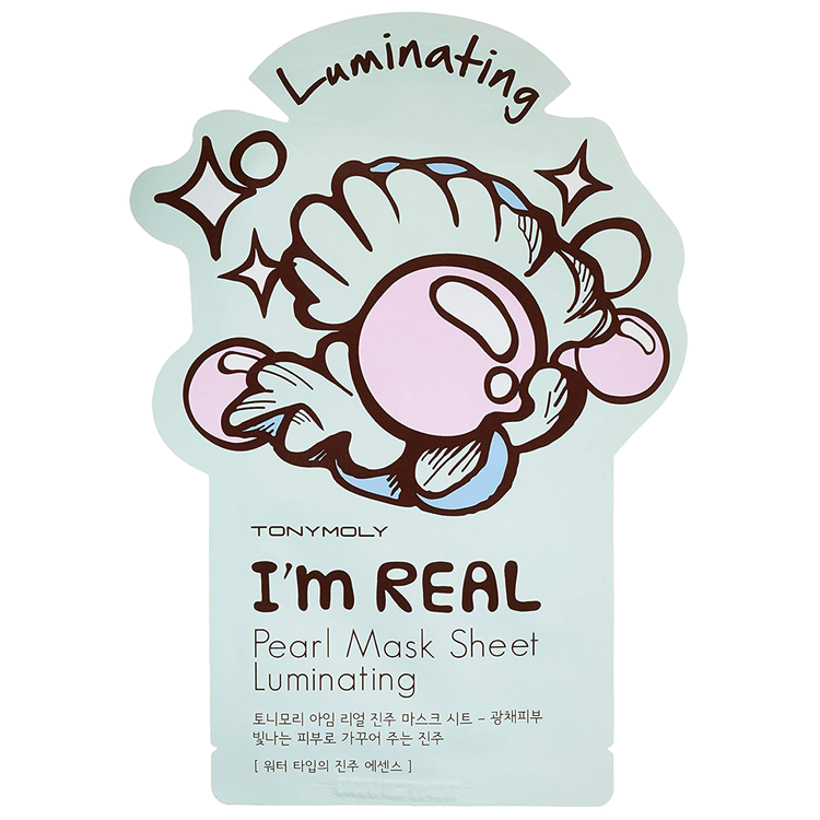 TONYMOLY I'm Real Pearl Mask Sheet